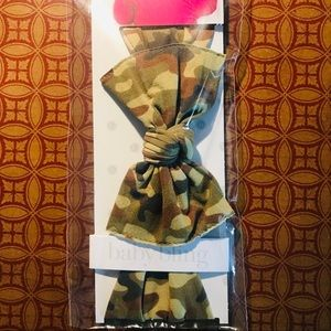 Other - New in package Baby bling bow CAMO